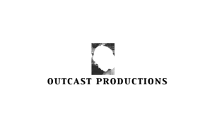 OUTCAST PRODUCTIONS Logo Inverted